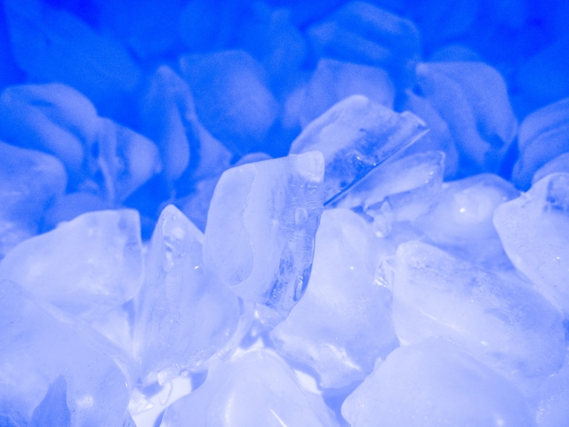 冷凍庫の氷